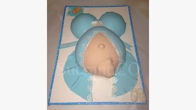 Gâteau baby shower bebe cake chocolat femme enceinte paris ile de france