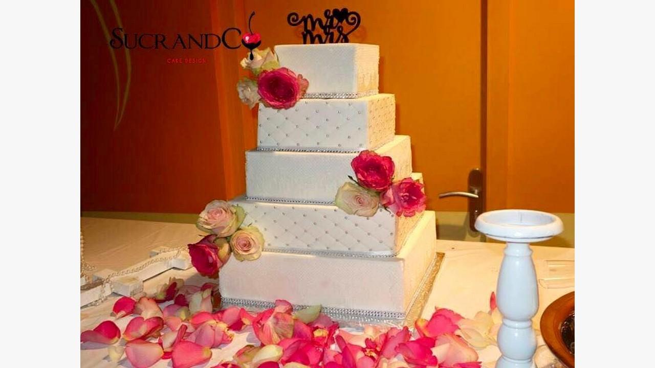Gâteaux De Mariage Paris Wedding Cake Ile De France Sucrandco